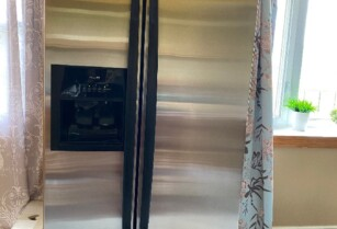 Whirlpool ステンレスdoor to door 冷蔵庫 counter depth